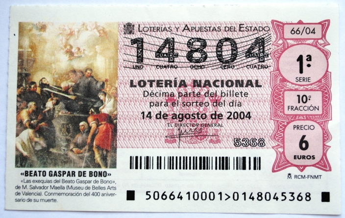 Spain has a long tradition of lotteries, in fact, it goes all the way back to the time of Cervantes.