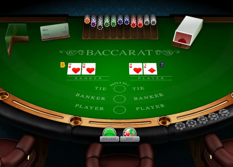 Play Baccarat Online For Money