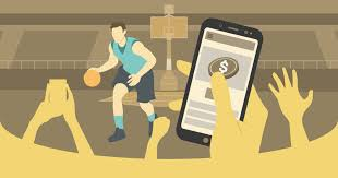 In-play basketball betting